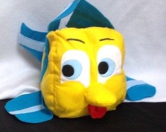 Flounder like fish costume, baby costume, kids costume, adult costume, fish costume