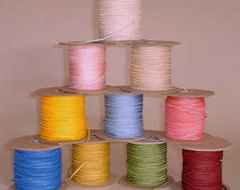 3mm TINY Picot Braid, 10m pack - all colours.
