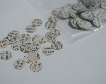 Paper Confetti // The Book Page - 500 pieces