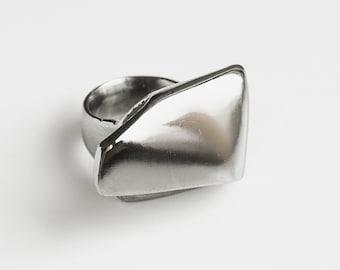 Architect stylish bronze ring