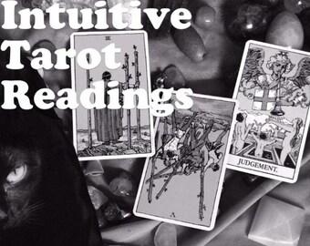 Intuitive tarot readings
