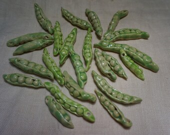 Green Pea beads