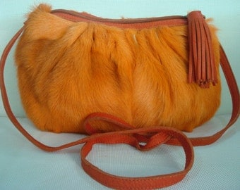 Vintage bag Golden hair