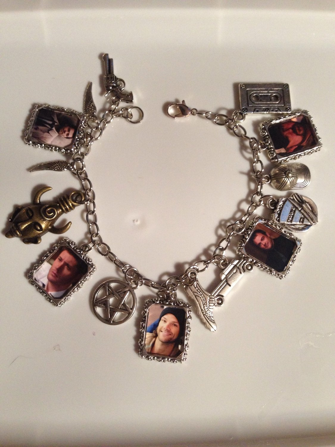 supernatural ultimate fan charm bracelet by
