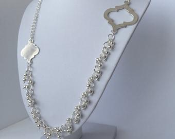 Asymmetric Baroque Necklace