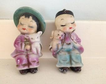 2 Chinese Figurines