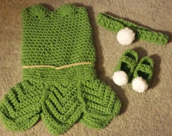 Tinker Bell Outfit; 0-3 months