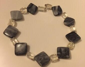 Gray Stone Chocker