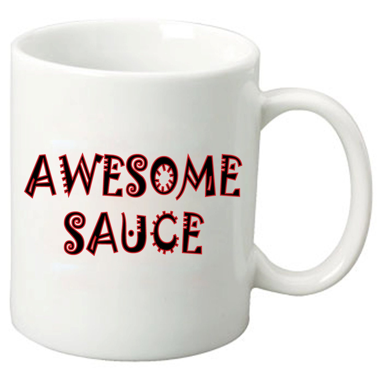awesome coffee mugs awesome sauce 11 oz coffee mugs best geeky nerdy 11419