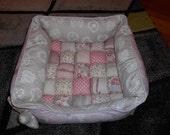 Dog bed - patchwork