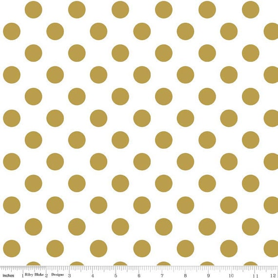 Metallic Gold Dot Fabric Gold Dot Fabric Sparkle Gold