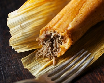 Authentic Beef Tamales (1 dozen)