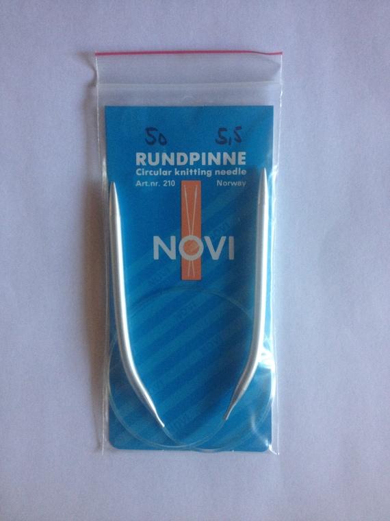 Knitting Needles Norwegian Air : Novi circular knitting needles quot cm size mm made