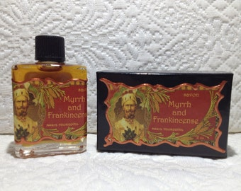 Frankincense and Myrrh Perfume Oil