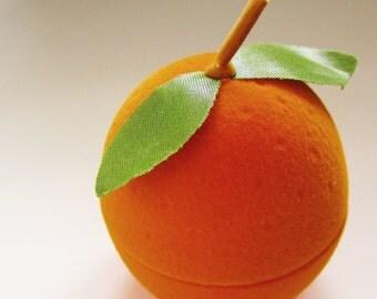 Orange Fruit Ring Box