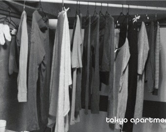 Tokyo Apartment Zine Black and White Photography Japan