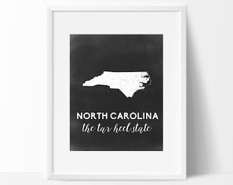 North Carolina Printable