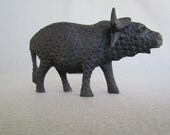 Hand Carved Bessmo Cape Buffalo Figurine from Kenya