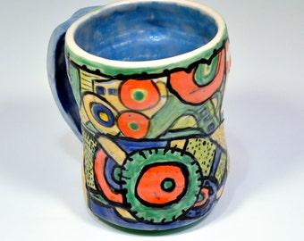 Inner working porcelain Mug