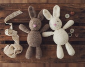 PATTERN mini Briar Bunny adorable knitting pattern