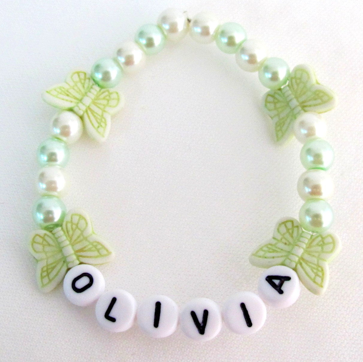 Children Party Jewelry Birthday Party Favor Girl Name Bracelet