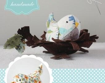 merry wobbler birds : a sewing pattern