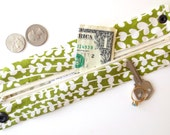 Money Cuff Wallet- Secret Stash--Flower bud - hide your cash, coins, health info, jewels, house key