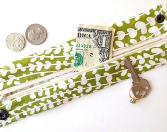 Money Cuff Wallet- Secret Stash--Flower bud - hide your cash, coins, health info, jewels, house key