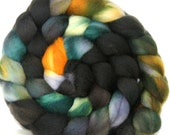 Hand dyed BFL wool Combed Top-- 6.1 oz --