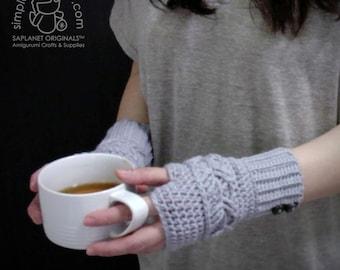 Crochet Mittens Pattern - Kimberly