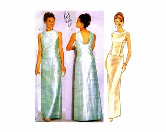Butterick Misses Formal Evening Top and Skirt Sewing Pattern 6466 ...