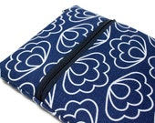 12 inch MacBook 13 inch MacBook Pro Case Laptop Cover Sleeve for Women or Girls - Blue Scallops