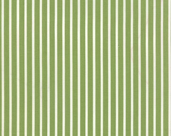 SALE - Daysail - Stripe in Green: sku 55102-19 cotton quilting fabric by Bonnie and Camille for Moda Fabrics - 1 yard
