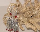 Custom Swarovski Chandelier Earrings