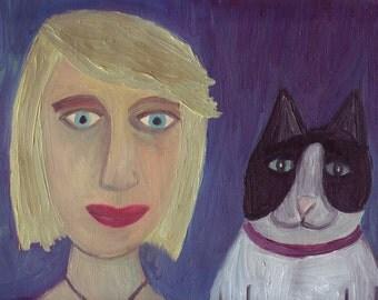 Custom Pet Portraiture - Your Beast And His Bestie