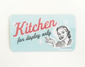 Kitchen for Display Only Magnet