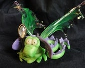 A Story of a Dragon and the Magic Staff - OOAK ELEMENTAL DRAGONS