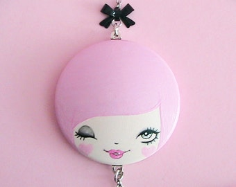 Call Me Doll Face Necklace
