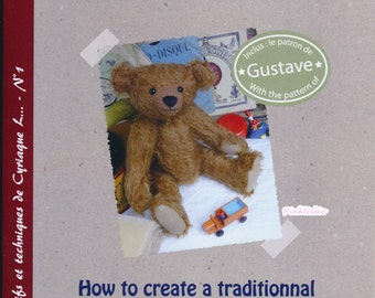 How to make traditional Teddy Bear -  French n English Craft Booklet