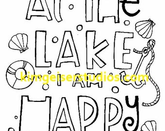 At The Lake digital download