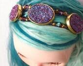 Blythe Headband - Andromeda- Galaxy Collection - SALE