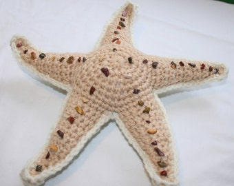 Amigurumi Starfish Crochet PDF Pattern INSTANT DOWNLOAD Directions for making an Ocean Sea Beach Toy Plushie