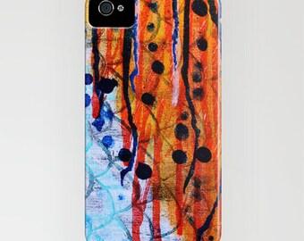 Koi Fire Phone Case Galaxy S5 S4 iPhone 4 5 6 Plus 5c 5s 4S