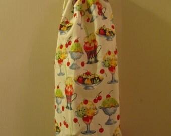 Sundaes Shopping Bag Plastic Bag Grocery Bag Holder
