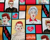 I Love Lucy - Custom Plus Size Skirt - Lucille Ball - Pop Art - Icon - 1950's