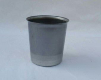Votive Candle Molds,  25 Round,  Seamless Metal