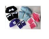 Girls Crochet Pillbox Hat Pattern and Boot Cuffs Crochet Hat Pattern Crochet Boot Cuff Pattern Buy 2 Get 1 Free Crochet Pattern No. 75