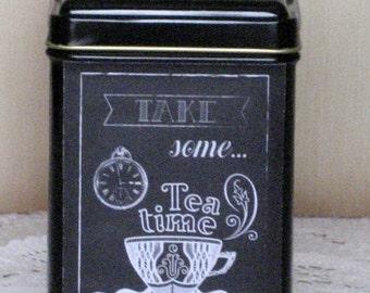 Take Time for Tea Tin