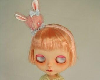 Blythe Bunny Rabbit Headband with Bunny Head MADE TO ORDER