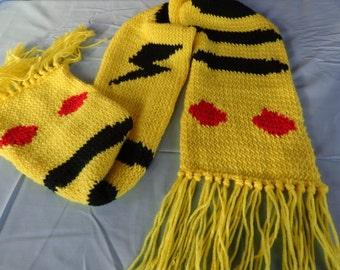 Pokemon Pikachu-inspired scarf